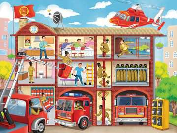 Firehouse Frenzy 100pcs