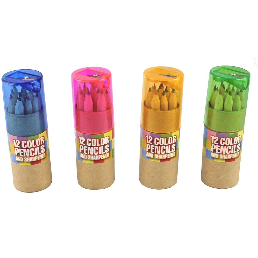 12 Color Pencils Set