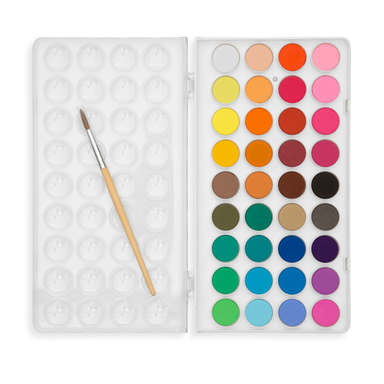 Lil' Watercolor Paint Pods - 37 Pc Set