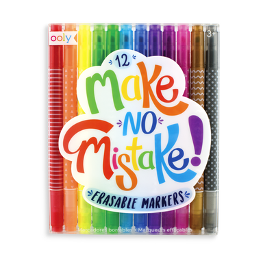 Make No Mistake! Erasable Markers - Set of 12
