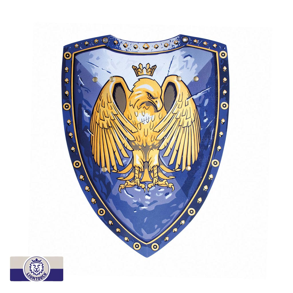 Golden Eagle Knight Shield