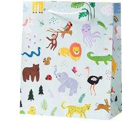 Jungle Animals Medium Bag