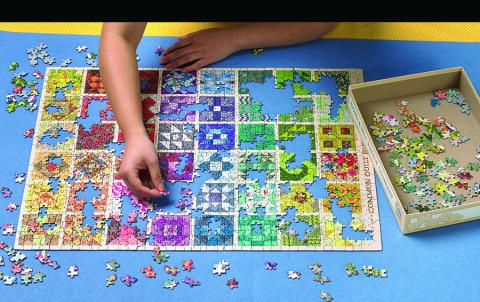 Puzzle Roll Away Mat
