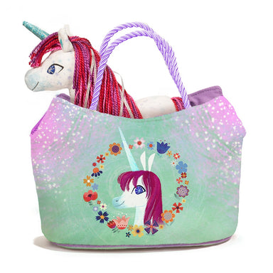 Uni The Unicorn Plush Toy Carrier