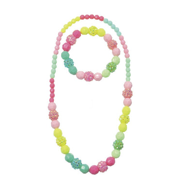 Vividly Vibrant Necklace & Bracelet Set