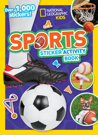 National Geographic Kids: Sports Sticker Activity Books