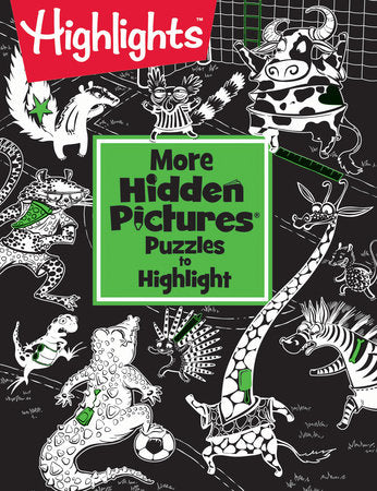 More Hidden Pictures® Puzzles to Highlight
