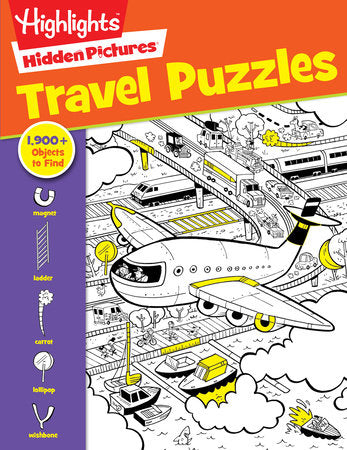 Hidden Pictures: Travel Puzzles