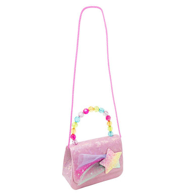 Rainbow Star Hard Handbag