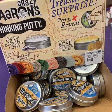 Thinking Putty - Treasure Surprise Mini Tin