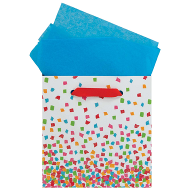 Colorful Confetti Small Gift Bag