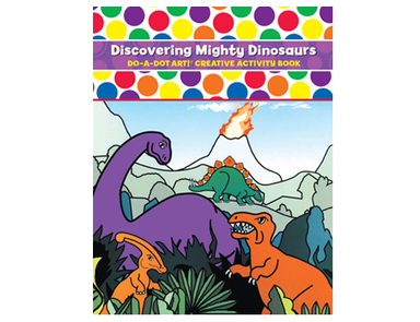 Discovering Mighty Dinosaurs - Do A Dot Art