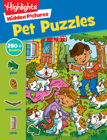 Hidden Pictures: Pet Puzzles