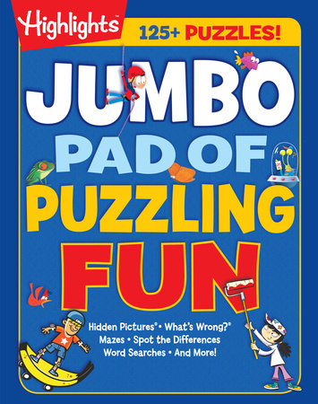 Highlights: Jumbo Pad of Puzzling Fun