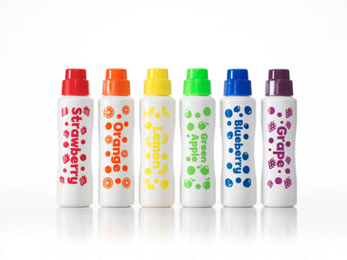 Juicy Fruits Scented 6 Pack Dot Markers