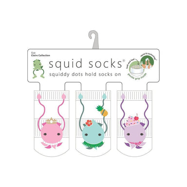 Squid Socks Claire Collection - 3 Pack Socks