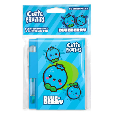 Cutie Fruities Note Pad – Blueberry