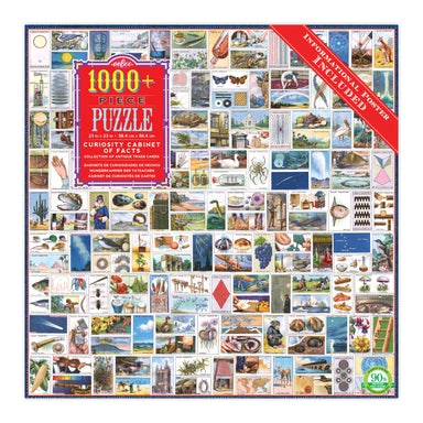 Curiosity Cabinet of Facts 1000+ Piece Puzzle