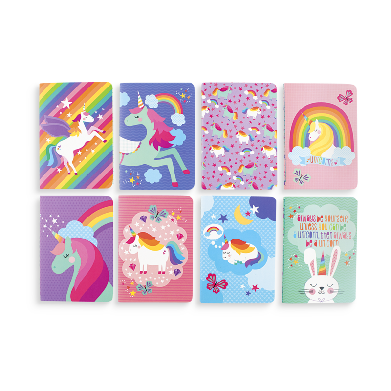 Pocket Pal Journals - Unique Unicorns - Set of 8
