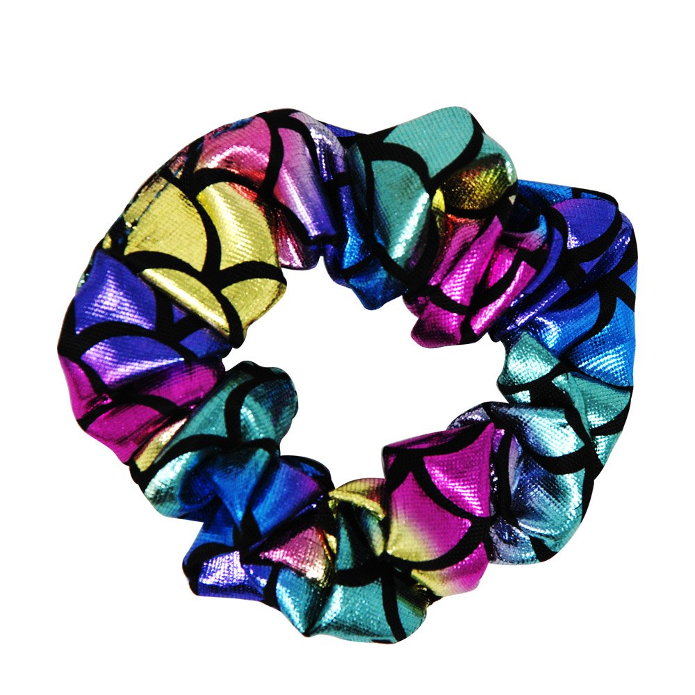 Shimmering Hair Scrunchies