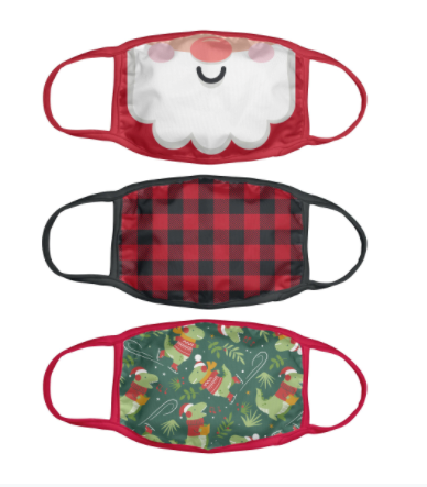 Holiday Masks - Santa