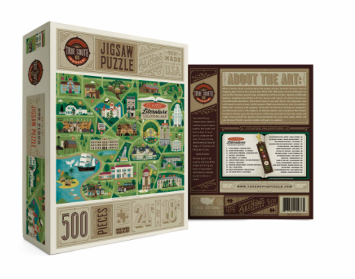 Classic Literary Locations - 500 Piece Puzzle
