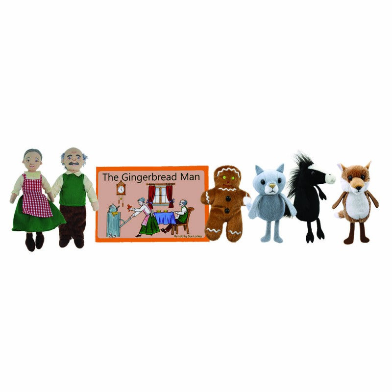 Traditional Story Puppet Set - The Gingerbread Man