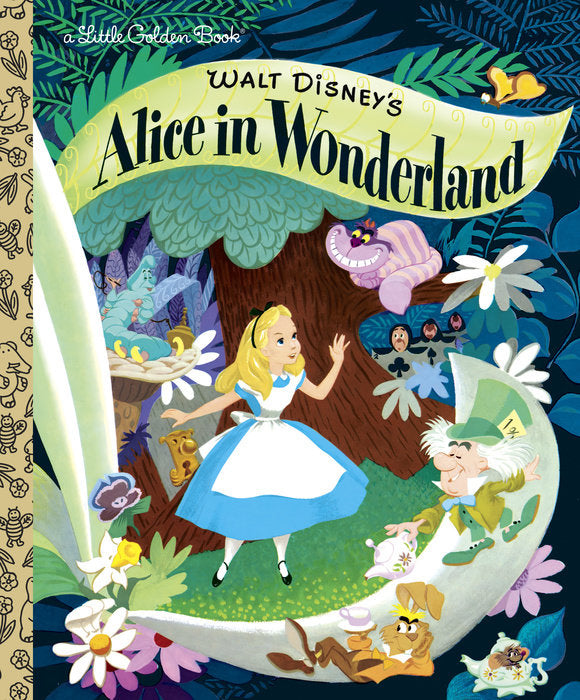 Little Golden Book Walt Disney's Alice in Wonderland (Disney Classic)