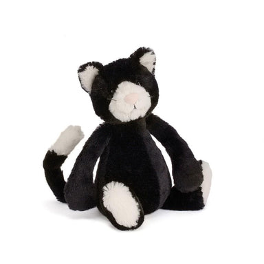 Jellycat Bashful Black and White Kitten