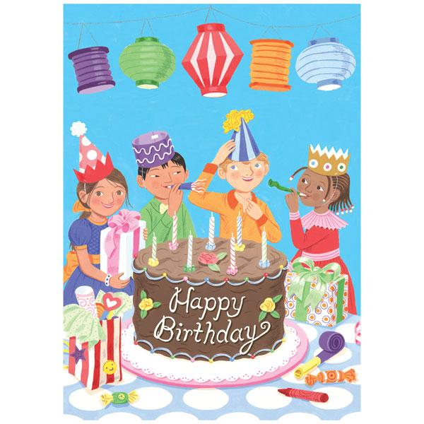 Let's Celebrate! Birthday Card