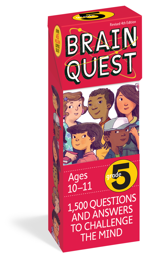 Brain Quest for 5th Grade, Revised 4th Edition