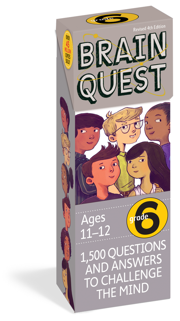 Brain Quest for 6th Grade, Revised 4th Edition