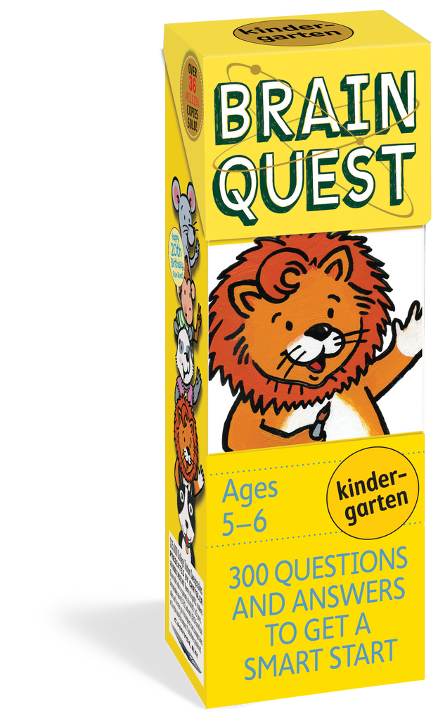 Brain Quest for Kindergarten, Revised 4th Edition