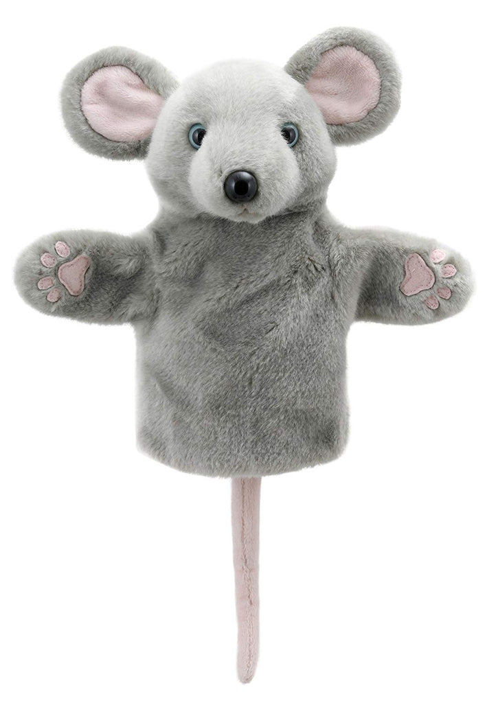 Grey Mouse Hand Puppet