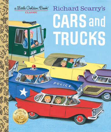 Little Golden Book Richard Scarry's Cars and Trucks