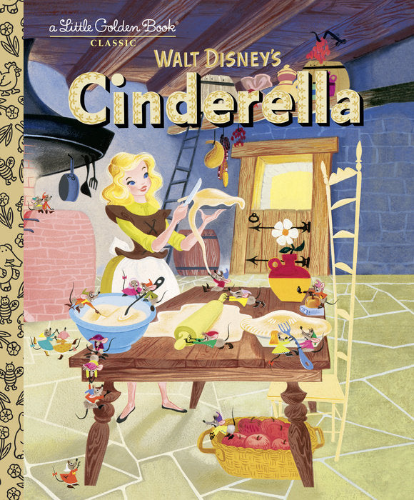 Little Golden Book Cinderella (Disney Classic)
