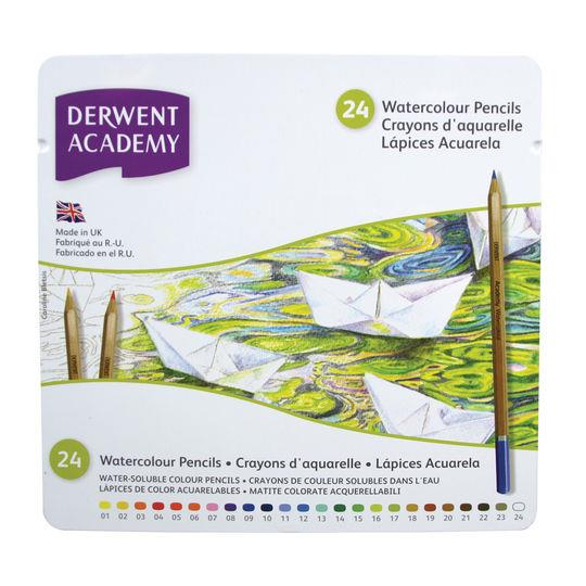Derwent Academy Watercolour Pencils Set of 24