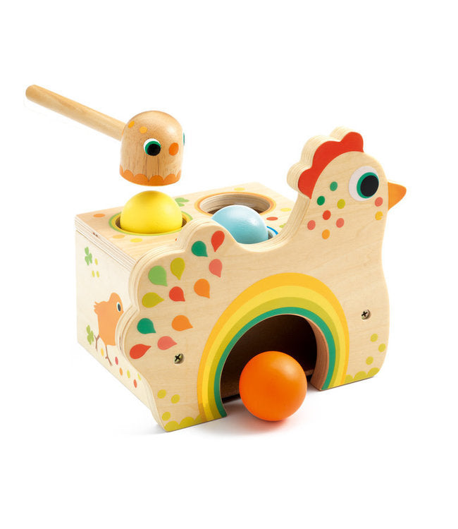 Tapatou Chicken Wooden Toy