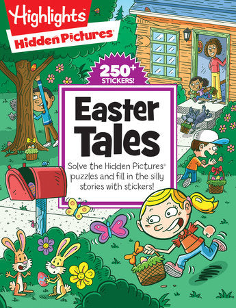Highlights Hidden Pictures Easter Tales