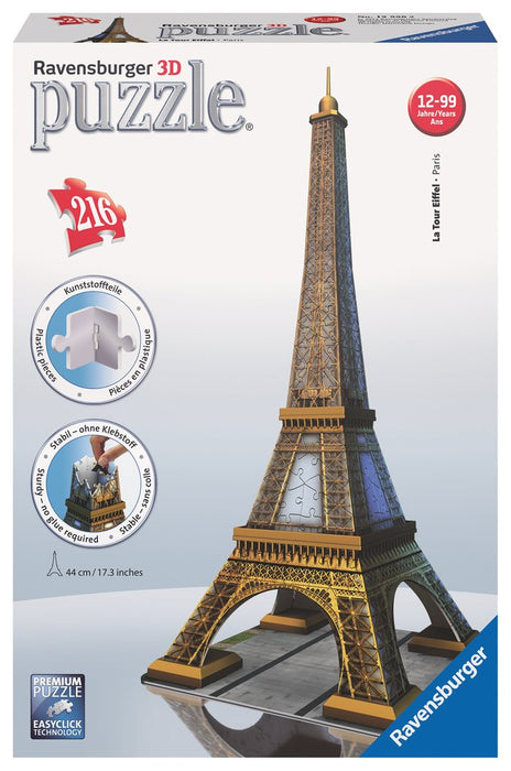 Eiffel Tower - 3D Puzzle