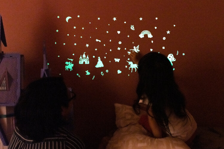 Fairy Tales Glow in the Dark Wall Stickers