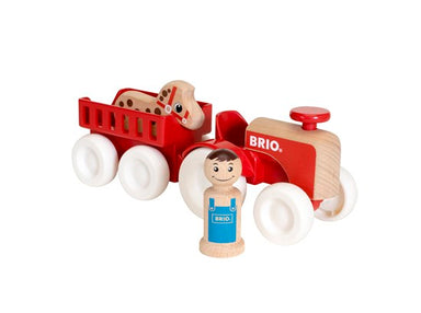 BRIO My Home Town - Farm Tractor Set