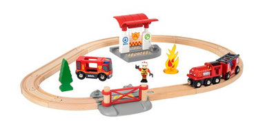 BRIO Rescue Firefigther Set