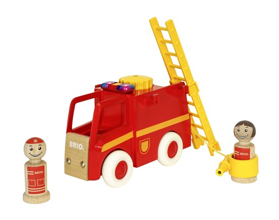 BRIO My Home Town - Light & Sound Firetruck