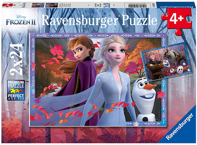 Frozen 2 - Frosty Adventures - 2 x 24pcs