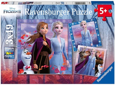 Frozen 2 - The Journey Starts - 3 x 49pcs