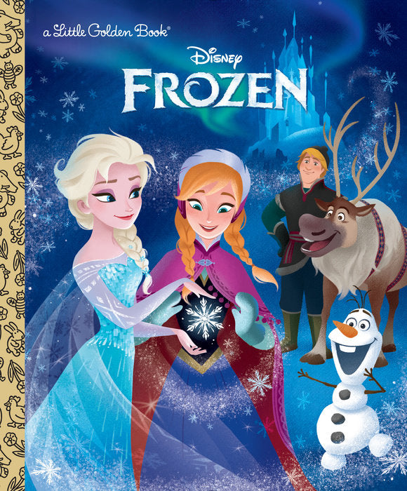 Little Golden Book Frozen (Disney Frozen)