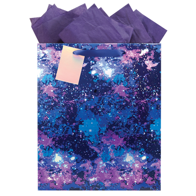 Galaxy Large Gift Bag