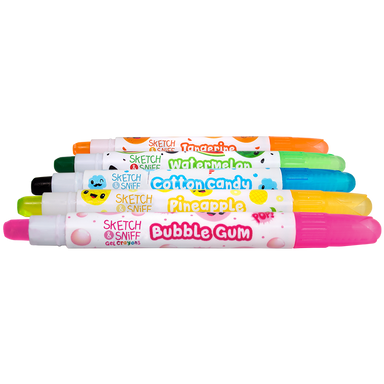 Sketch & Sniff Gel Crayons Set of 5