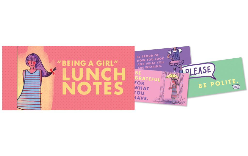 Lunch Notes for Girls
